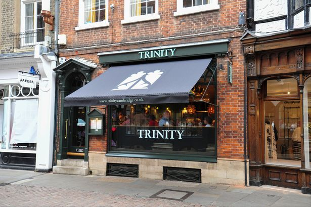 Trinity Centre Restaurant Cambridge