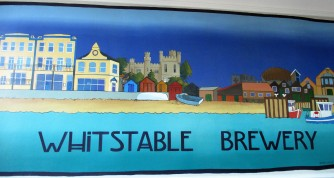The Official Brewery of the world-famous Whitstable Oyster Company. We enjoyed sampling several of the beers!