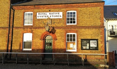 The Royal Native Oyster Stores in Kent is a seafood restaurant offering some of the very best oysters, fish and crustacea. The restaurant is located on the beach and offers stunning views of the company's oyster grounds.