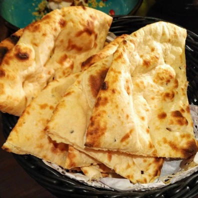 The Naan bread at Athithi is perfectly cooked